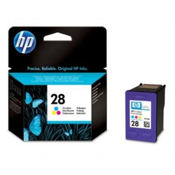 Cartucho ink-jet hewlett packard deskjet 3320/3420 nº 28 color.
