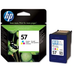 Cartucho ink-jet hewlett packard officejet 6110 nº 57 color.