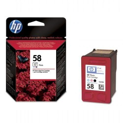 Cartucho ink-jet hewlett packard officejet 6110 nº 58 photo.