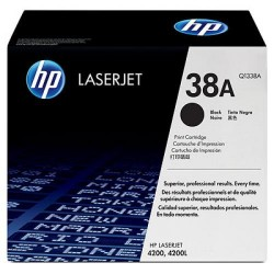 Toner laser hewlett packard laserjet 4200 negro.