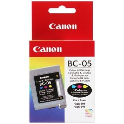 Cartucho ink-jet canon bjc-210/240/250/1000 color.