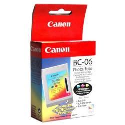 Cabezal + cartucho fotográfico ink-jet canon bjc-210/240/250/1000.