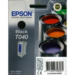 Cartucho ink-jet epson stylus c62/cx3200 negro.