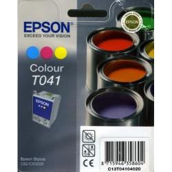 Cartucho ink-jet epson stylus c62/cx3200 color.