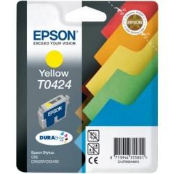 Cartucho ink-jet epson stylus c82/cx5200/cx5400 amarillo.
