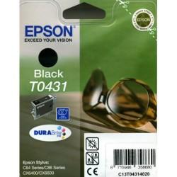Cartucho ink-jet epson stylus c84/c86/cx6400/cx6600 negro.