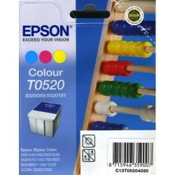 Cartucho ink-jet epson stylus color 400/440/600/640 color.