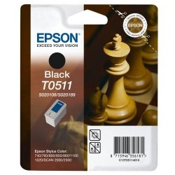 Cartucho ink-jet epson stylus color 740/760/1520 negro.