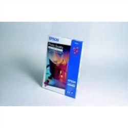 Paquete de 100 hojas de epson photo quality ink-jet paper en din a-4 de 102 grs.