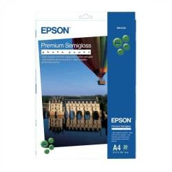 Paquete de 20 hojas de epson premium semigloss photo paper en din a-4 de 250 grs.