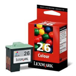 Cartucho ink-jet lexmark z13/z35/i3/x75 color.
