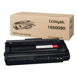 Toner laser lexmark x-215 negro.