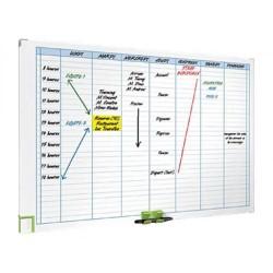 Planning semanal magnético nobo performance de 60x90 cm.
