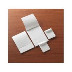Bolsa con solapa sin engomar offset blanco de 50x70 mm. especial para pastillas.