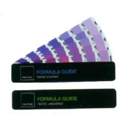 Pantone formula color bridge coated.