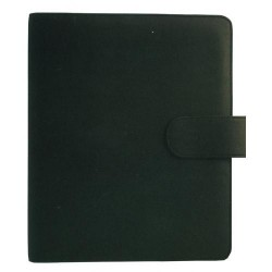 Agenda finocam open troya 1000 de 155x215 mm. en color negro.