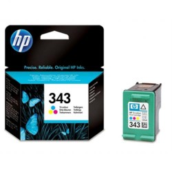 Cartucho ink-jet hewlett packard deskjet 5740/5840/6540/photosmart 325/375/8150/psc1510/2350, 343 color.
