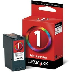 Cartucho ink-jet lexmark z735/x2350 nº 1 negro/color.