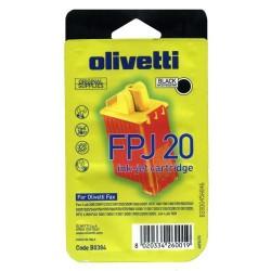 Cartucho ink-jet olivetti jp150/fpj20 negro.