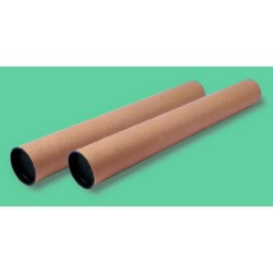 Tubo de envío en cartón 5* de 80x720 mm.