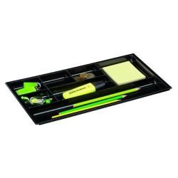 Organizador de cajón cep pro en color negro.