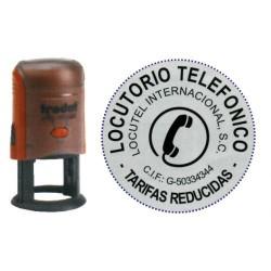 Sello automático personalizado trodat printy 46045.