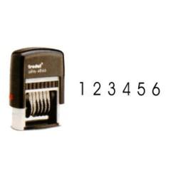 Numerador automático con 6 bandas trodat printy 4846.