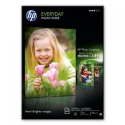 Paquete de 100 hojas de hewlett packard glossy everyday en din a-4 de 200 grs.
