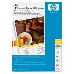 Paquete de 50 hojas de hewlett packard superior paper glossy en din a-4 de 180 grs.