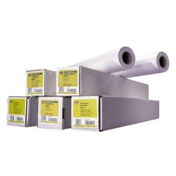 Rollo de hewlett packard bright white ink-jet paper 0,914x45,7 mts. de 90 grs.