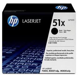 Toner laser hewlett packard laserjet p3005 negro.