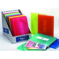 Pack de 10 fundas transparentes extraibles en din a-4 para carpetas elba flexam plus.
