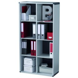 Mueble biblioteca paperflow de 8 casillas.