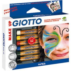 Lápices cosméticos giotto make up.