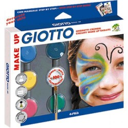 Set de sombras cosméticas giotto make up.