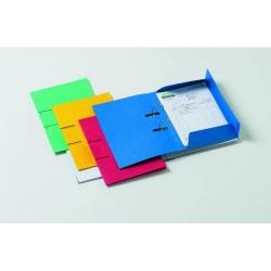 Subcarpeta/dossier archivable con tres solapas y 2 taladros papyrus en din a-4/folio de colores surtidos.
