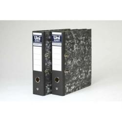 Box de 1 archivador de palanca uni system novoclas en folio de lomo ancho sin ranura.