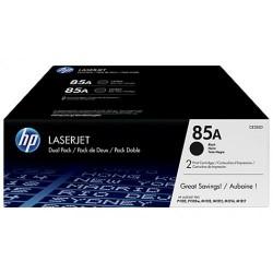 Toner laser hewlett packard laserjet p1102/m1210 negro, pack doble.