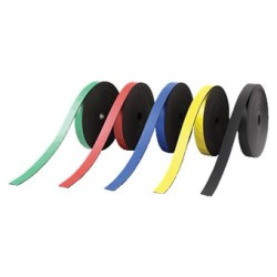 Banda magnética nobo 5x2000 mm., bolsa de 4 colores surtidos