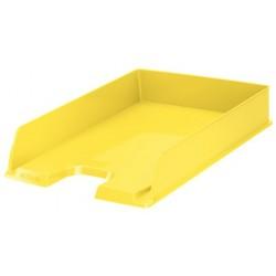 Bandeja portadocumentos esselte europost en color amarillo vivida.