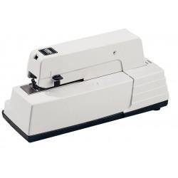 Grapadora eléctrica rapid 90ec en color blanco.