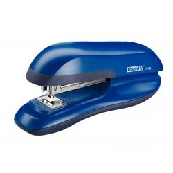 Grapadora de sobremesa rapid f16 en color azul agua.