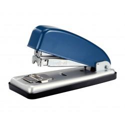 Grapadora de sobremesa petrus 226 en color azul/plata .