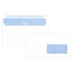Sobre offset blanco gallery con ventana derecha de 45X100 mm. en 120x235 mm.