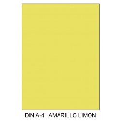 Cartulina canson iris en Din A-4 185 grs. color amarillo limón.