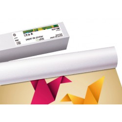 Rollo de papel para plotter sprintjet mate 100 grs. de 610 mm. x 45 mts.