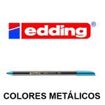 EDDING 1200 COLORES METÁLICOS