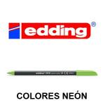 EDDING 1200 COLORES NEÓN