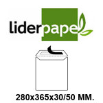 LIDERPAPEL EN FORMATO 280x365x30/50 MM.