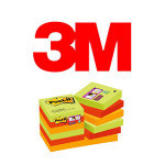 BLOCS DE NOTAS ADHESIVAS 3M POST-IT SUPER STICKY, COLOR MARRAKESH